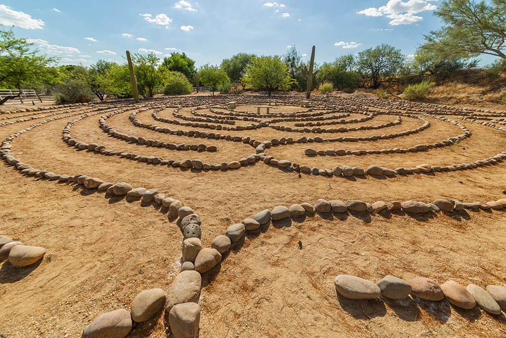 Rio Retreat Center - Labyrinth