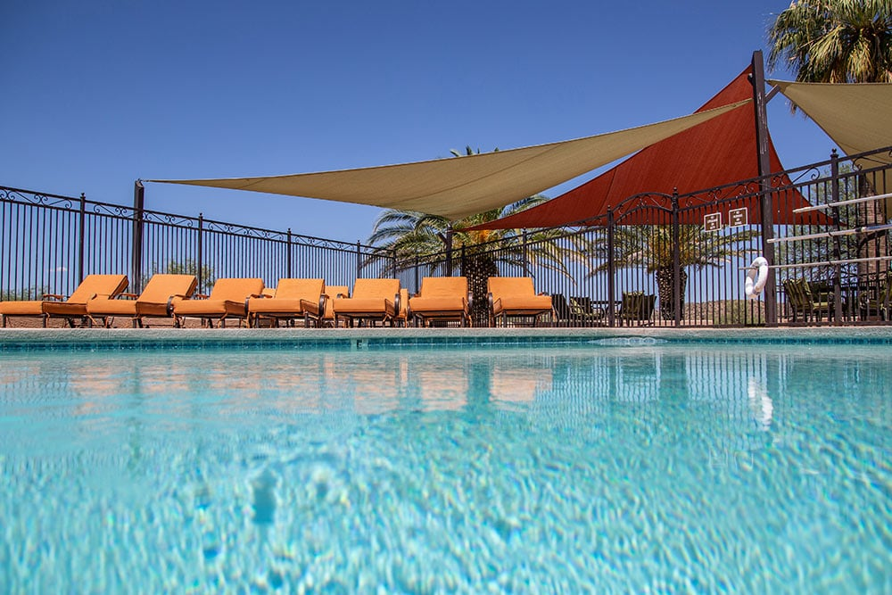 The pool at The Meadows of Wickenburg