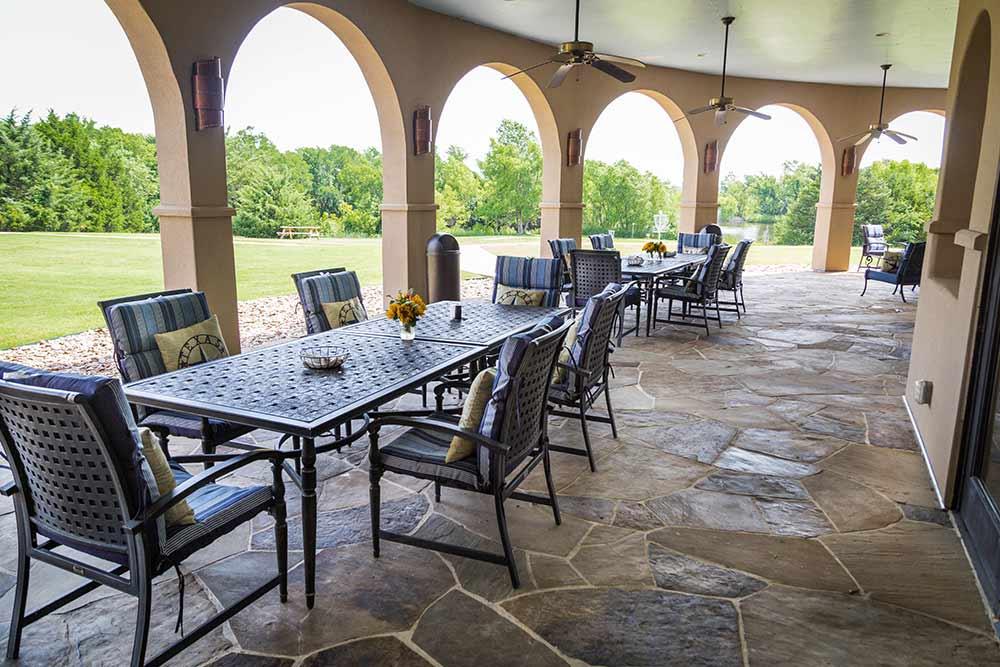 Meadows Texas patio