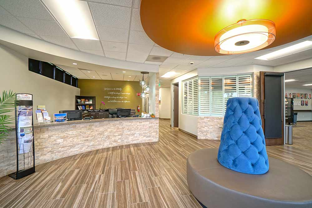 Meadows Outpatient lobby