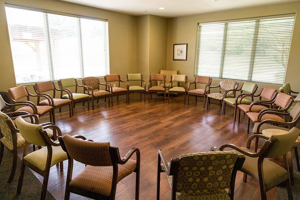 The Meadows Texas group room