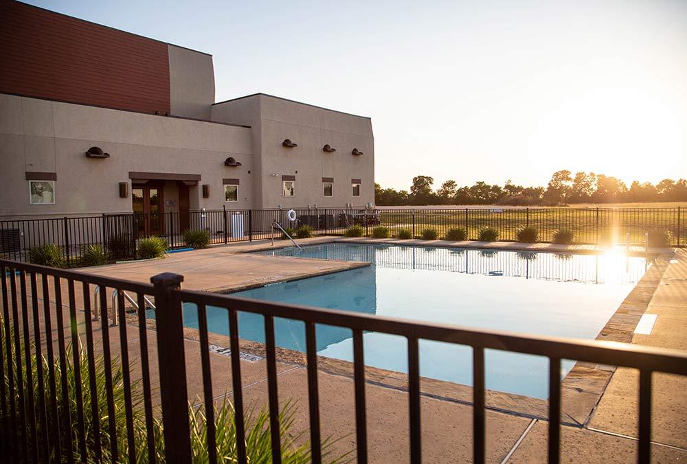 The Meadows Texas pool