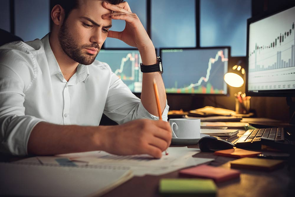 Work addiction and money issues